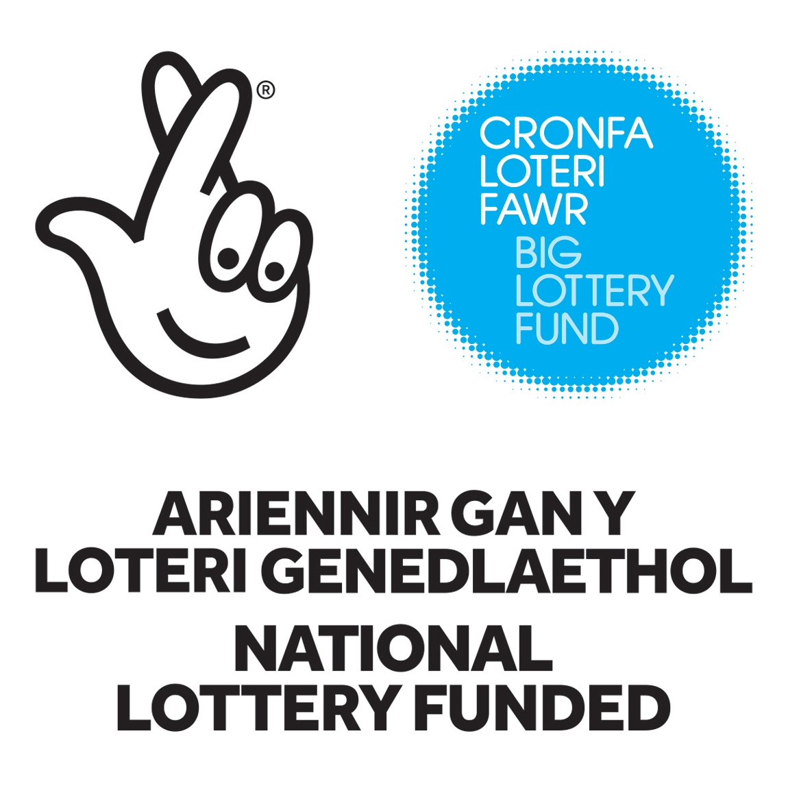 How to tell people about your national lottery funding using our blue logo print sciox Image collections