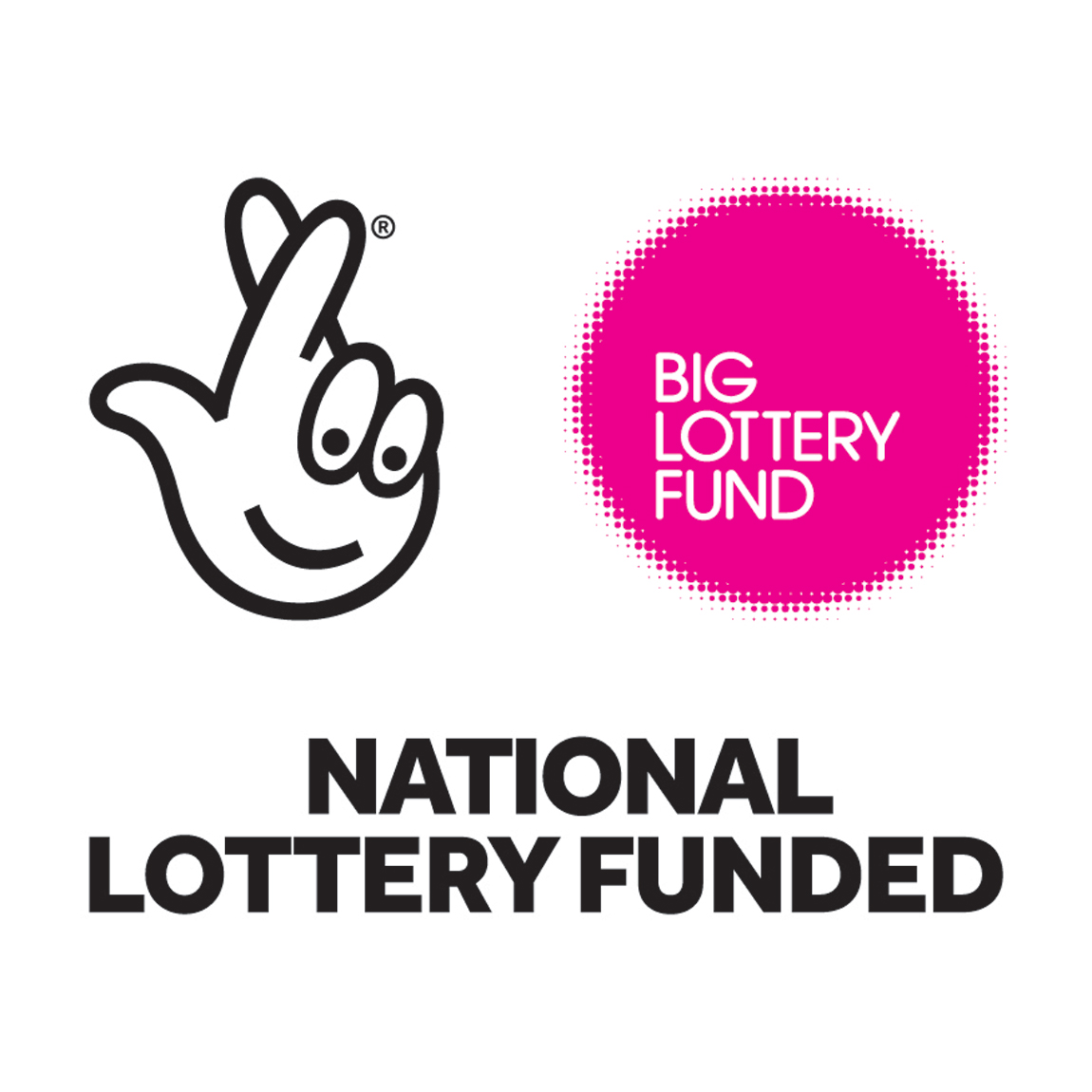 How to tell people about your national lottery funding using our pink logo print sciox Image collections