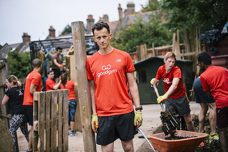 "GoodGym CEO Ivo Gormley on a GoodGym ""mission"""
