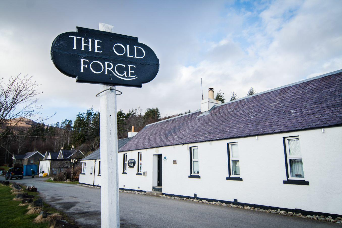The Old Forge pub, Knoydart