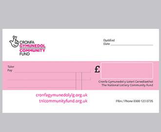 Acknowledgement cheque